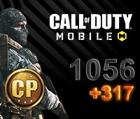 Call of Duty Mobile 1056+317 CP