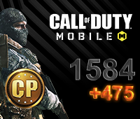 Call of Duty Mobile 1584+475 CP
