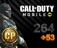 Call of Duty Mobile 264+53 CP