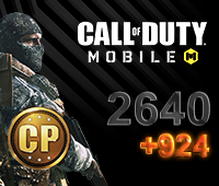 Call of Duty Mobile 2640+924 CP