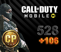 Call of Duty Mobile 528+106 CP