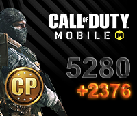 Call of Duty Mobile 5280+2376 CP
