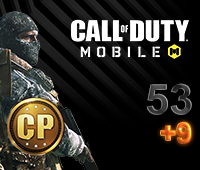 Call of Duty Mobile 53+9 CP