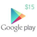 Google Play Gift Card $15