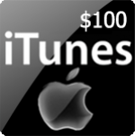 Itunes Gift Card $100