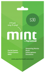 Mint Gift Card $30