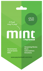 Mint Gift Card $50
