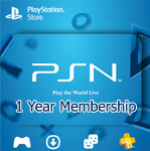PSN 1 Year Membership