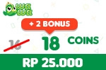 Voucher Wawa Games 18 Coins