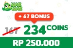 Voucher Wawa Games 234 Coins