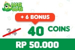 Voucher Wawa Games  40 Coins