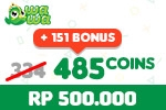 Voucher Wawa Games 485 Coins