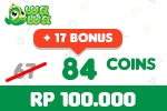 Voucher Wawa Games 84 Coins
