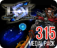 DOT 315 Medals Pack