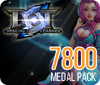 DOT 7800 Medals Pack