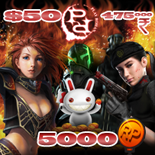 PlayRohan Points: 5000 (US$50)